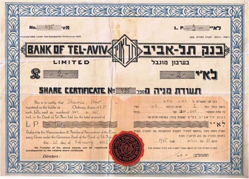 Bank of Tel-Aviv
